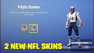 Fortnite new skins.2 NEW FREE NFL SKINS - SUPER BOWL SKINS