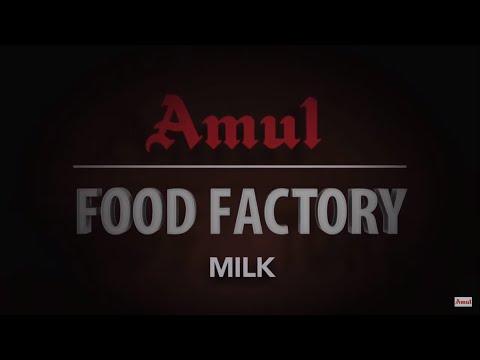 #Amul Food Factory - Milk