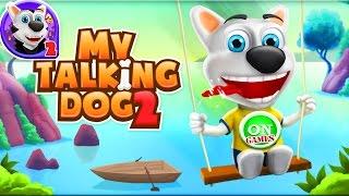 Видео игра для детей Моя Говорящая Собака Чарли 2 My Talking Dog 2 2016 мультик дети и родители игры