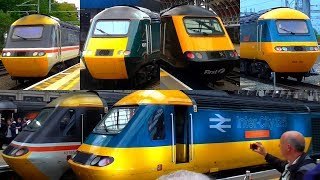 Final Day of Great Western Railway (GWR) HSTs / Intercity 125s Services From London - 18/05/19