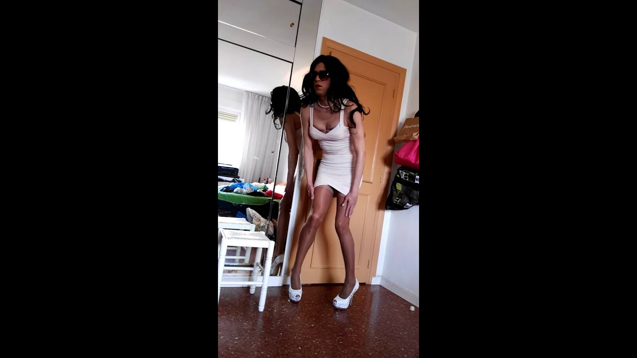 First time cross dressing and anal - 2 part 9