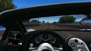 Test Drive Unlimited 2 PC Gameplay + Bugatti @ 420km/h(top speed)