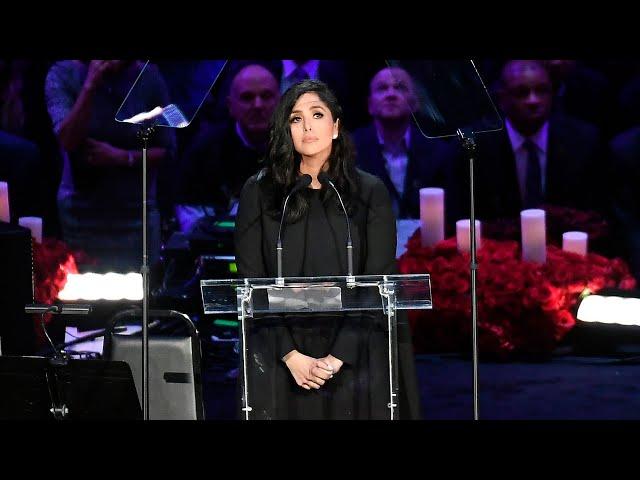 Vanessa Bryant Speaks at A Celebration of Life for Kobe and Gianna Bryant