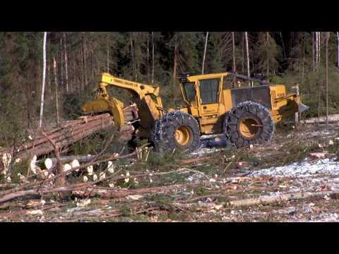 Thomas Logging: All Tigercat Harvesting System