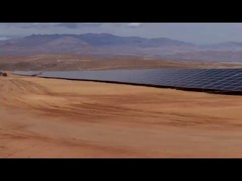 Así construye ACCIONA la mayor planta fotovoltaica de Latinoamérica