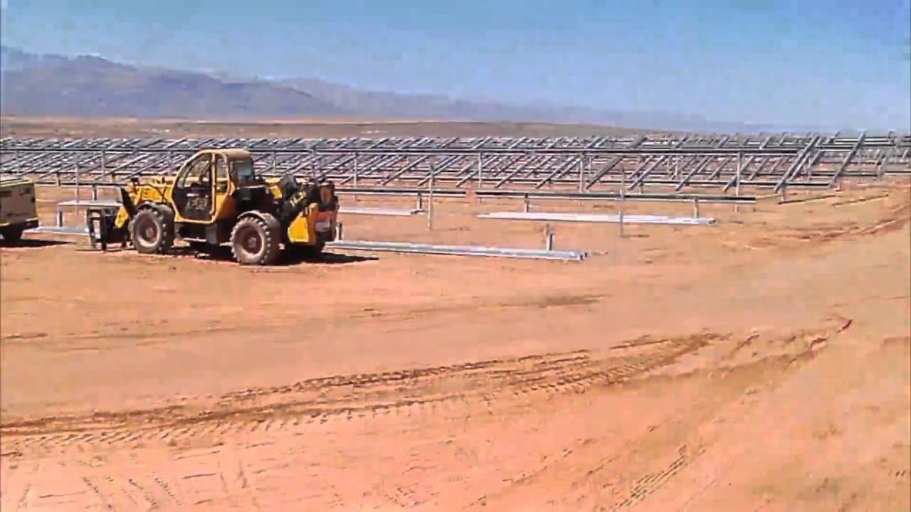 Construcción de la planta fotovoltaica El Romero en Chile | ACCIONA