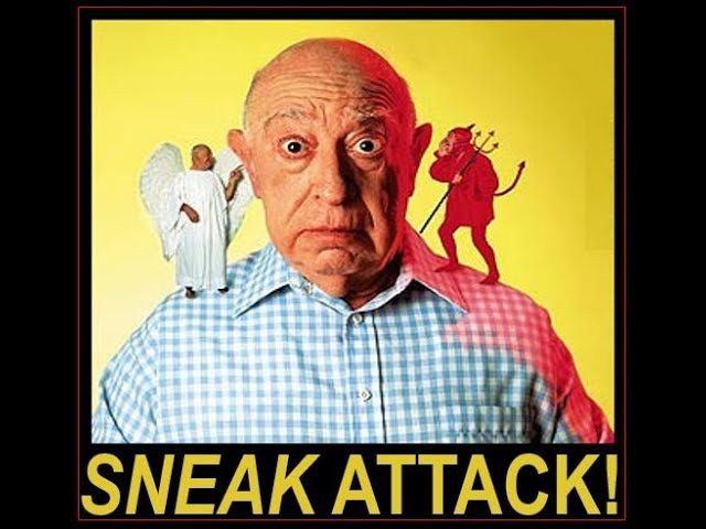 Sneak Attack! [Defense Against The Dark Arts}