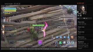 FORTNITE EN VIVO [SAUVER EL CAMBIO MUNDIAL][FR PS4][NO PUB]