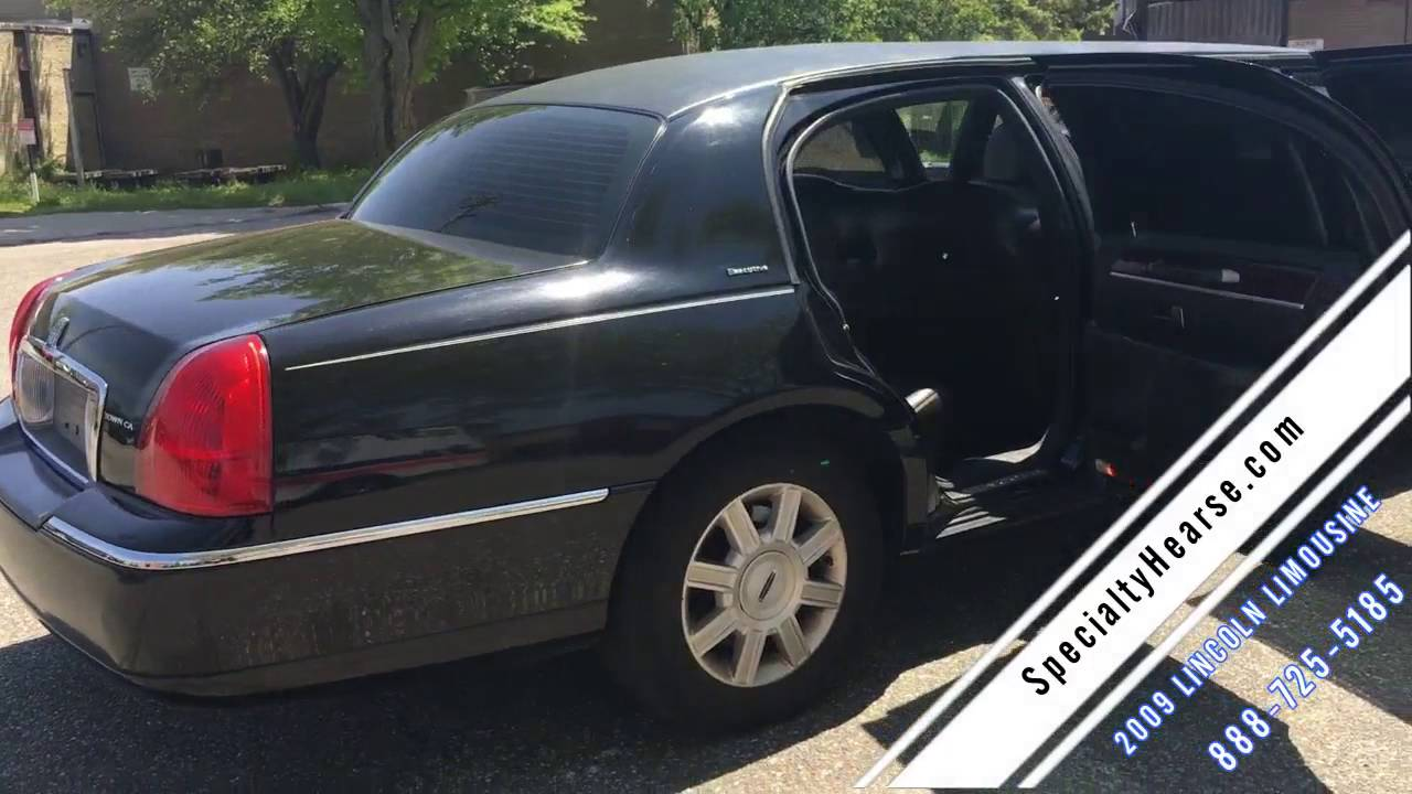 drivers black photo side stock limited profile town lincoln car in