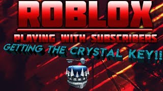 Roblox | LIVE STREAM #68 | GETTING THE CRYSTAL KEY!!! | Ready Player One Event!
