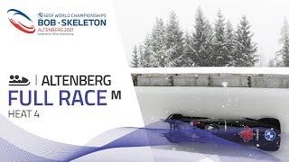 Altenberg | BMW IBSF World Championships 2021 - 2-Man Bobsleigh Heat 4 | IBSF Official