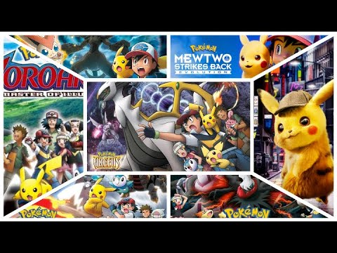 Pokemon All Movies In Hindi List Pokemon All Movies In India Youtube