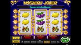 Mystery Joker - NEW SLOT MACHINE - Bonus game