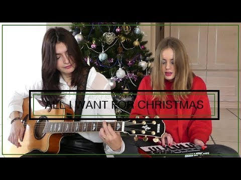 ALL I WANT FOR CHRISTMAS - Maria Carey by Alex & Marie Amendy