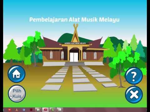 Multimedia Interaktif pembelajaran alat musik tradisonal melayu ( Adobe Flash)