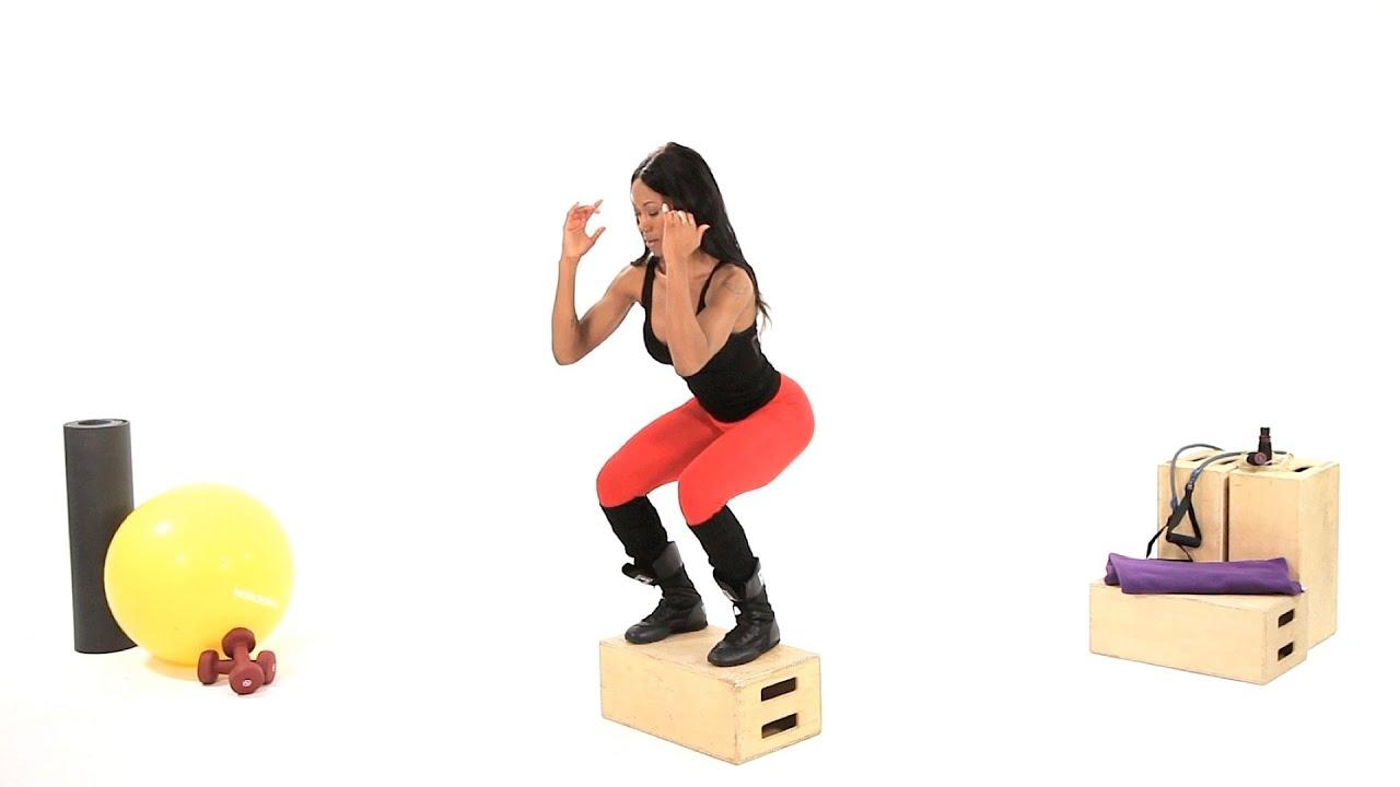 How to Do a Box Jump | Plyometric Exercises - YouTube