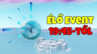 ÉLŐ EVENT 19:45-kor! :O --- Van Support a !Creator kódom - !donate !dc