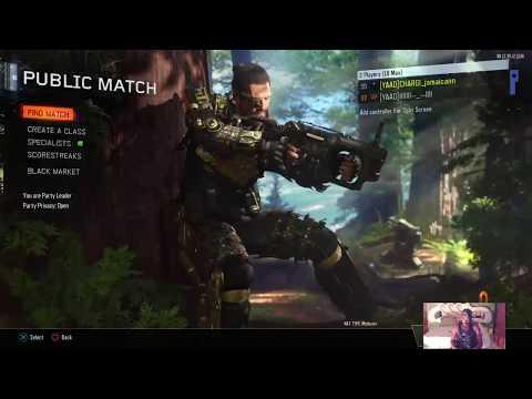 "BO3 ""teamJamaica"" clan tag(#YAAD)triple PLAY(Interactive Streamers)rd to 2k"