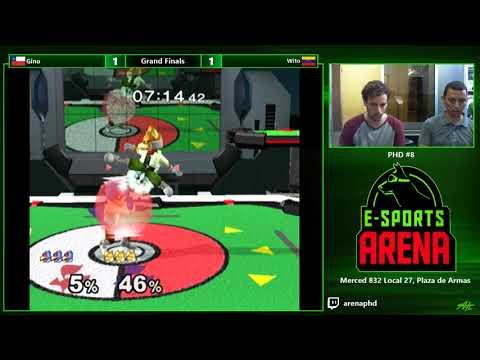 PHD #8 SSBM - Gino (Falco) vs. Wito (Fox) - Grand Finals