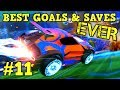 Rocket League Montage BEST GOALS SAVES EVER 11 Freestyle goals, dribbles more HD