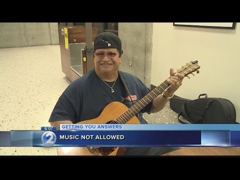 Slack-key guitar legend told not to play at Honolulu airport
