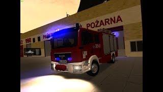 GTA San Andreas - Wyjazd Alarmowy 305[E]21 MAN TGM GBA z JRG 5 Łódź