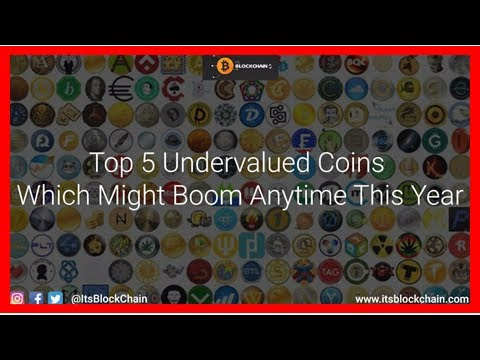 Top 5 undervalued cryptocurrencies you can't missNews Cryptocoins