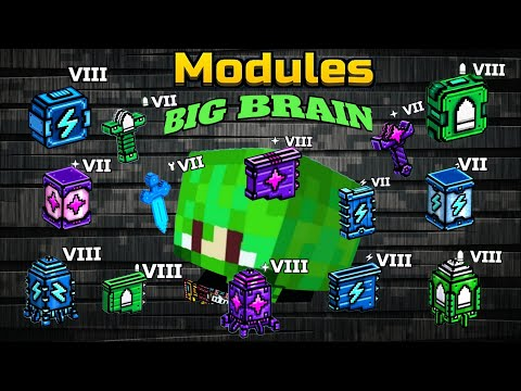*MODULES!!* In Pixel Gun 3D And How They Work! (Damage Test)