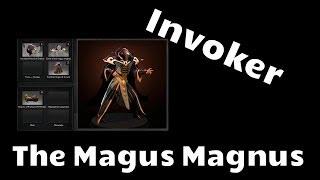 Omsk Dota, trade - The Magus Magnus set - Invoker