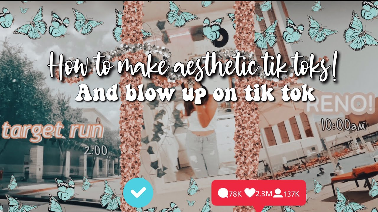 Download How To Make Aesthetic Tik Toks Blow Up On Tik Tok In Hd Mp4 3gp Codedfilm I prefer uncommon names or evocative names that carry a positive connotation or evoke a positive i also love lyrical, artistic, botanical, mythical, romantic, vintage, hipster, and heartwarming names. codedfilm