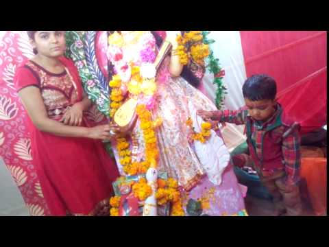 saraswati puja pic click