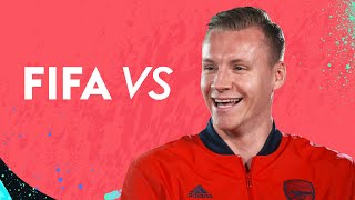 'Martinelli can become world class!' | Bernd Leno vs FIFA 20