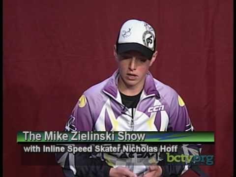 Inline Speed Skater Nicholas Hoff   8-2-16
