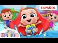 El Bebé visita el Parque Acuático 🌊| Little Angel Español