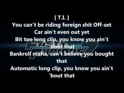 T.I. & Young Thug - Off Set lyrics (HD)