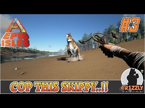 ARK:Survival Evolved EPIC ISLANDS MODDED - It's a Roo!! - EP3
