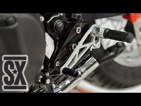 Lsl Rear Set Installation Triumph Bonneville Cafe Racer Youtube