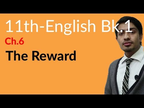 11th Class English Book 1 Topic 6 The Reward
