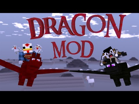 Dragon Rider Mod: Minecraft Shur'tugal Mod Showcase - 9 Different Dragons!