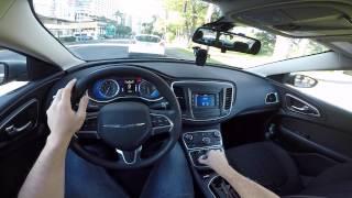 Chrysler 200 2.4 Tigershark Test Drive Onboard POV em Honolulu Hawaii