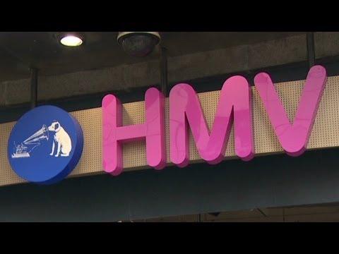 HMV calls in administrators Mp3