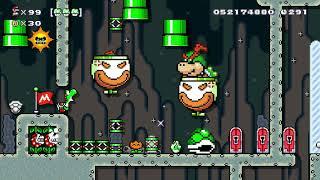 Super Mario Maker 2 🔧 Endless Challenge 1825 - 1840