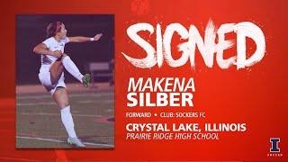 Illini Soccer Signed | Makena Silber