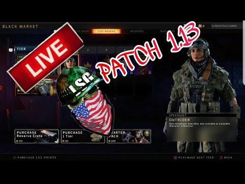 UPDATE 1.13 OPERATION GRAND HEIST  / CALL OF DUTY BLACK OPS 4 18+CONTENT thumbnail