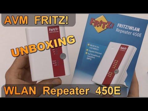 Unboxing: AVM FRITZ! WLAN Repeater 8E / WiFi Verstärker 8,8GHz 808.8n /  Gigabit LAN Port