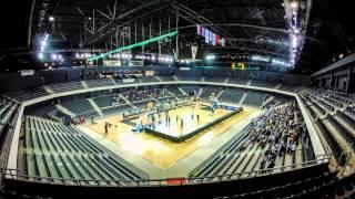 Timelapse la mecul U-Banca Transilvania - Trabzonspor