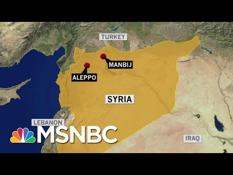 U.S. Led Coalition Forces Targeted In Suicide Bombing In Syria | Morning Joe | MSNBC