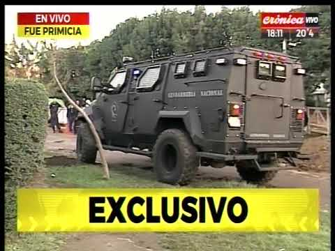 Feroz tiroteo en Moreno