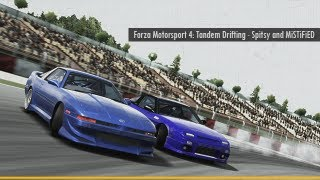 Forza Motorsport 4: Tandem Drifting (Spitsy and MiSTiFiED)
