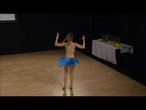 Kara Bass - Auckland - New Zealand World Latin Dance Cup 2016